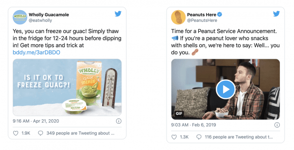 Promoted tweets convey your message in a short, efficient, and effective way.