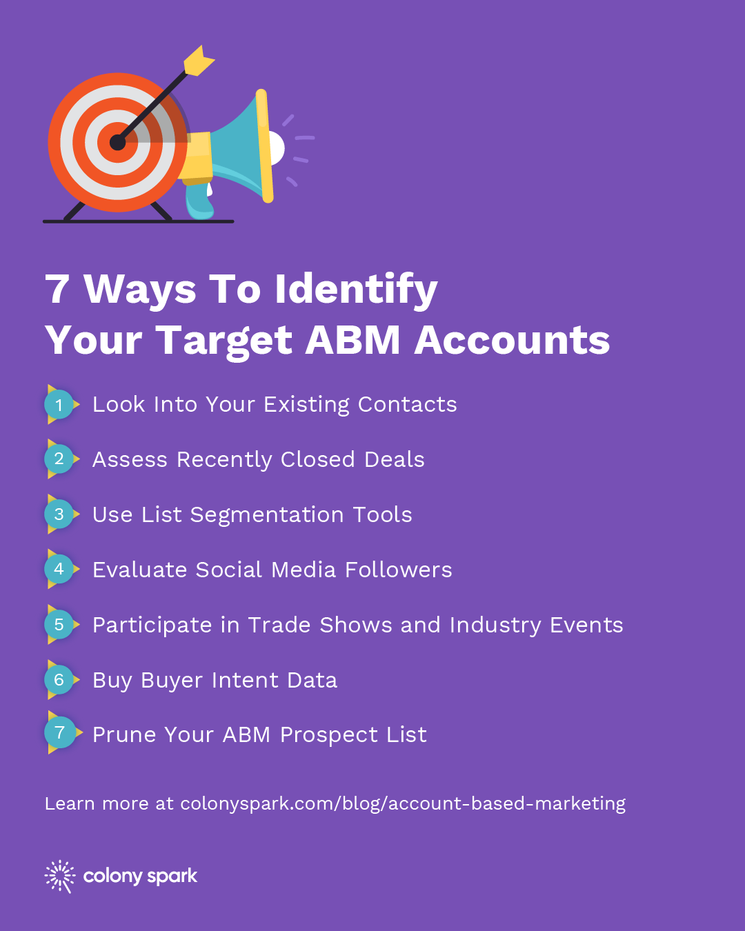 7 Ways To Identify Your Target ABM Accounts